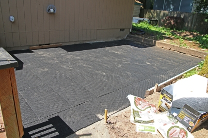 Ready for pavers.