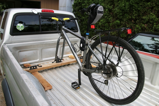 If You Are Carrying Three Bikes Ll Have To Hop Up On The Truck Put Middle One In Place Bike2