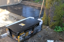 """These new """"Paver """"Base"""" panels saved me a lot of work."""