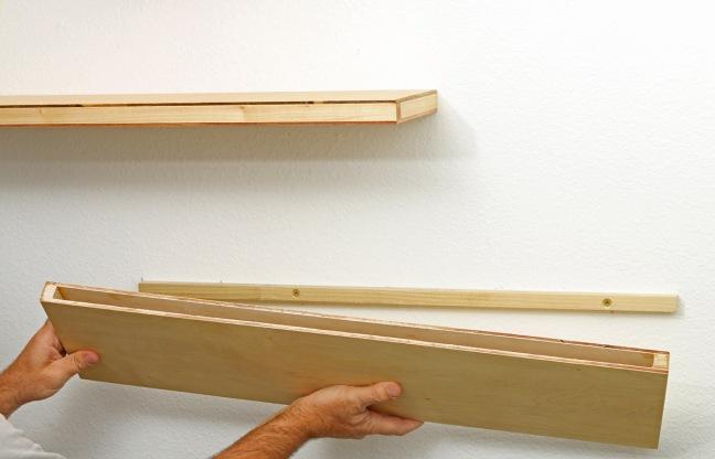 Build Stuff, the book: Floating shelves – Build Stuff