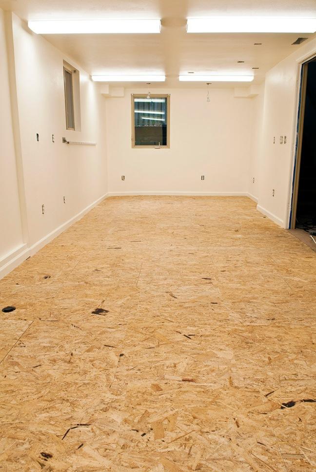 work shop floor